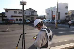 地上測量イメージ